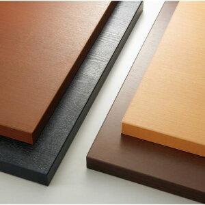 【受注生産品】CHERRY(チェリーレスタリア) テーブル天板 メラミン化粧板・ABS樹脂エッジ2・フラッシュ構造 幅800×奥行700mm/業務用/新品/送料無料