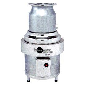 【プロ用/新品】日本エマソン ディスポーザー 8Kgタイプ(300~500人/1食) 生ゴミ処理機 SS-300-24 直径300×高さ603から790(mm)【送料無料】