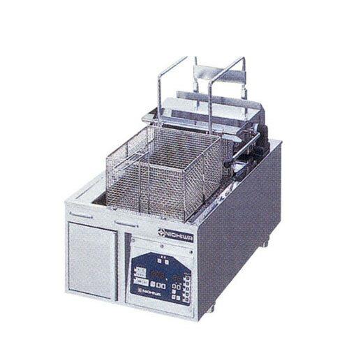 【業務用】電気フライヤー 卓上タイプ 【TEF-13-6-1LN】【ニチワ電気】幅380×奥行650×高さ300