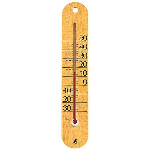 温度計 木製温度計 M-023 48481 シンワ測定【業務用/新品】【グループW】