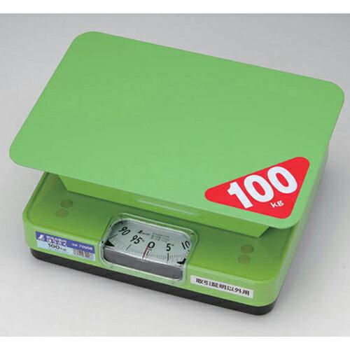 台ハカリ 簡易自動ハカリ ほうさく 100kg 取引証明以外用 100kg 70008 シンワ測定【業務用/新品】【グループW】
