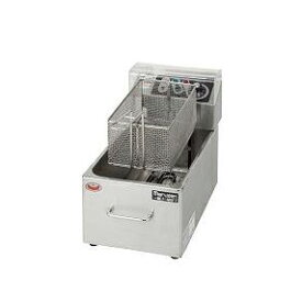 【プロ用/新品】【マルゼン】電気フライヤー 8L MEF-M8FT 幅255×奥行475×高さ195(mm)【送料無料】