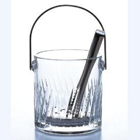 アイスペール 【ナック・フェザーHS 氷入】 東洋佐々木ガラス(TOYO-SASAKI) 56776N-2/ φ122×H130・M135 /【業務用】