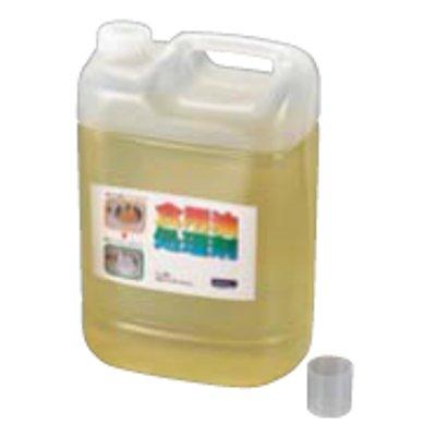 天ぷら油処理剤 油コックさん 5L (計量カップ付) 【業務用】【グループA】