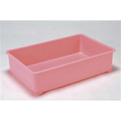 PPカラー番重 A型 大 ピンク(サンコー製) 【業務用】【グループA】