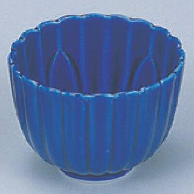 小鉢 【深型菊鉢瑠璃】高さ60mm×直径:84【業務用】【グループI】