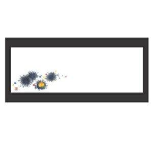 敷紙 箸置マット(100枚単位)ウニ(5月〜8月) 幅380 奥行130/業務用/新品