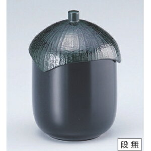 小吸椀 なす型小吸椀黒 高さ72 直径:72/業務用/新品