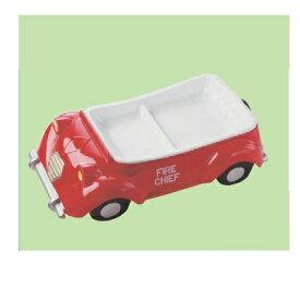 子供食器 プレート シトロエンランチ皿レッド 幅290 奥行168 高さ75/業務用/新品