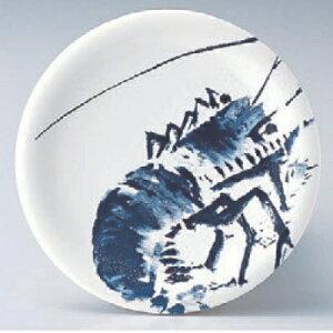 回転寿司皿 寿司皿白エビ 高さ21 直径:150/業務用/新品