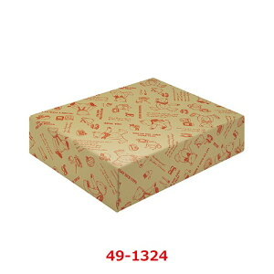 包装紙 ティータイムベア 半才判 全2色 49-1324/50枚袋入/業務用/新品