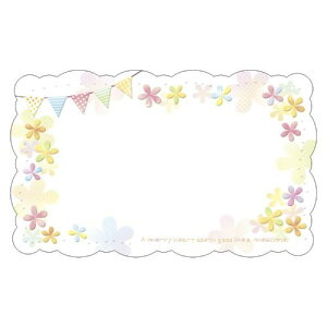 Fカード100 カラフルフラッグ/100枚×1冊/業務用/新品