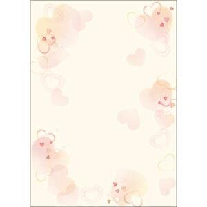デザインペーパーフラール ハートフル/10枚×5冊入/業務用/新品
