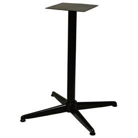 【即納可】テーブルレッグ 十字ベース シングル 適合天板サイズ:650×650(mm)【業務用】【送料無料】