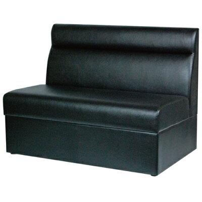 ボックスソファ W1000 ブラックレザー