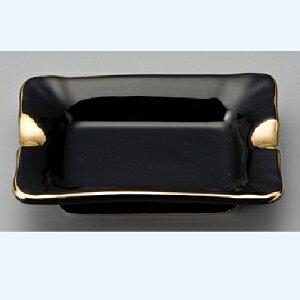 灰皿 レイノー長角灰皿(黒)/9.2×7×H2.1cm//業務用/新品 /テンポス