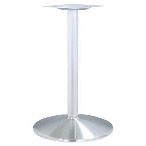 ハヤシ ステンレスH.Lベーステーブル脚 ベースサイズ:A550φ×高さ700mmまで指定可 品番:RS-D(ステンレスH・L) 塗装カラー:ポールシルバー塗装 ポール:76φ/送料別