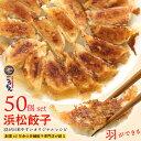 浜松餃子50個 浜松で創業60年の餃子屋が作る羽根つきオリジナル餃子【生冷凍】【送料無料】