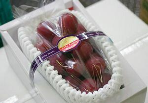 ルビーロマン葡萄通販 石川県産糖度18度以上の高級赤ぶどうを販売取寄。1房 約700g 石川産