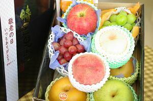 敬老の日果物詰合せ【フルーツBOX】ギフト取寄販売 おじいちゃん・おばあちゃんに果物プレゼント。大箱