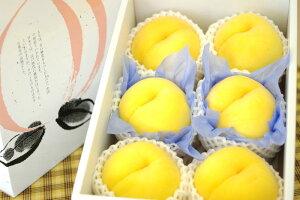黄美娘(きみこ)桃通販 黄桃を販売取寄。果物ギフトに 小箱 5玉〜6玉 山梨・他産地