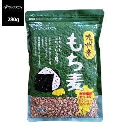 九州産もち麦280g【メール便送料無料】