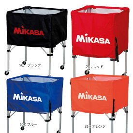 名入れ対応! ミカサ バレーボール 箱型ボールカゴ3点セット ボールカゴ 箱型 小 バレー BC-SP-SS