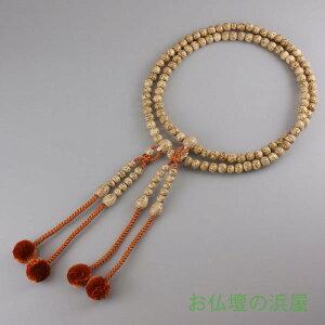 数珠(念珠) 真言宗用 星月菩提樹・共仕立 正絹菊房 尺寸 ●お仏壇・仏具の浜屋