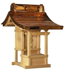 ほこら宮 8寸(木曽ひのき)外祭用祠 横巾54cm 【外宮】 ●お仏壇 仏具の浜屋