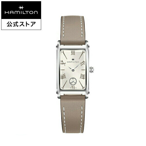 Hamilton ハミルトン 公式 腕時計 Ardmore アメリカンクラシック アードモア レディース レザー H11221514 |正規品 時計 クォーツ 革ベルト レディース腕時計 ブランド腕時計 レディ レディースウォッチ おしゃれ 女性 watch クオーツ ローマ数字 シンプル ウオッチ スクエア