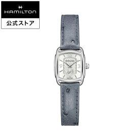 ハミルトン 公式 腕時計 Hamilton Bagley Japan Limited バグリー 日本限定 レディース レザー | 正規品 革ベルト レディース腕時計 ギフト ブランド腕時計 ビジネス レディ レディースウォッチ おしゃれ 女性 watch ブルー 革 シンプル ドレスウォッチ