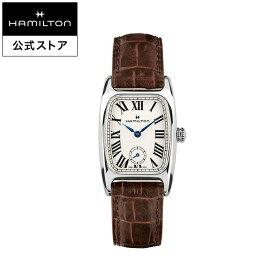 ハミルトン 公式 腕時計 Hamilton Boulton アメリカンクラシック ボルトン レディース レザー | 正規品 時計 革ベルト ブラウン クォーツ ギフト レディース腕時計 ブランド腕時計 ビジネス レディースウォッチ 女性用腕時計 おしゃれ 女性 watch シンプル ウオッチ