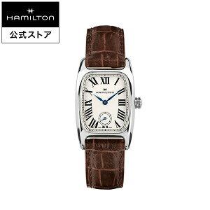 ハミルトン 公式 腕時計 Hamilton Boulton アメリカンクラシック ボルトン レディース レザー | 正規品 時計 革ベルト ブラウン クォーツ レディース腕時計 ブランド腕時計 ビジネス レディースウォッチ 女性腕時計 おしゃれ 女性 watch シンプル ウオッチ 女性用腕時計