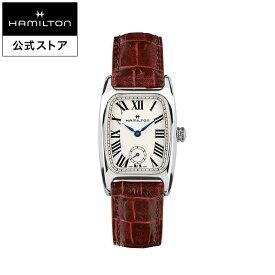 ハミルトン 公式 腕時計 Hamilton Boulton アメリカンクラシック ボルトン レディース レザー | 正規品 時計 革ベルト レッド クォーツ ギフト レディース腕時計 ブランド腕時計 ビジネス レディースウォッチ 女性用腕時計 おしゃれ 女性 watch シンプル ウオッチ