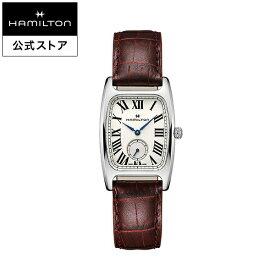 ハミルトン 公式 腕時計 Hamilton Boulton アメリカンクラシック ボルトン メンズ レザー | 正規品 時計 革ベルト レッド クォーツ ギフト メンズ腕時計 ブランド腕時計 ビジネス メンズウォッチ 男性腕時計 おしゃれ 男性 watch シンプル ウオッチ 男性用腕時計