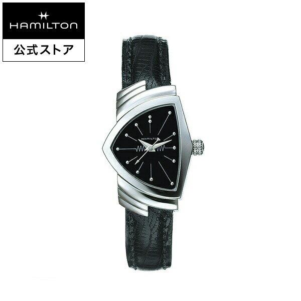 【ハミルトン 公式】 Hamilton Ventura ベンチュラ レディース レザー | 腕時計 時計 レディ 女性 女性用腕時計 レディース腕時計 ブランド腕時計 うでとけい レザーベルト 革ベルト レディースウォッチ 女性腕時計 watch ウオッチ おしゃれ ペア ペアウォッチ ペア腕時計