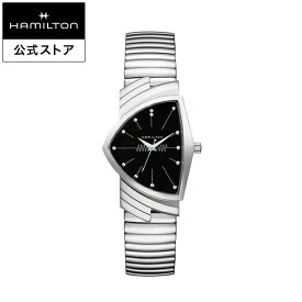Hamilton ハミルトン 公式 腕時計 Ventura L Q bk-brc ベンチュラ メンズ メタル H24411232 | 正規品 時計 メンズ腕時計 ブランド ブレスレットウォッチ クォーツ ウォッチ watch クオーツ 男性 シルバー 電池 ベンチュラー メタルバンド 男性用腕時計 黒文字盤 シンプル