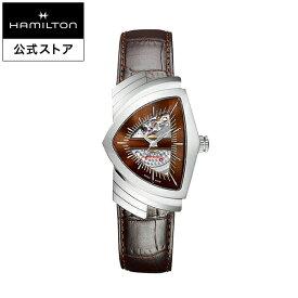 ハミルトン 公式 腕時計 Hamilton Ventura ベンチュラ メンズ レザー | 正規品 時計 メンズ腕時計 ブランド ベルト 革ベルト ギフト ウォッチ ブランド腕時計 ビジネス 紳士時計 うでとけい おしゃれ 男性腕時計 watch 革 男性 プレゼント メンズウォッチ メンズ時計