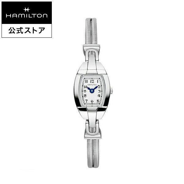 ハミルトン 公式 腕時計 Hamilton Lady Hamilton アメリカンクラシック レディハミルトン レディース メタル | 正規品 時計 watch ウォッチ ブランド腕時計 ブランド クォーツ クオーツ レディ 女性 レディス 女性用腕時計 クウォーツ 電池式 シルバー 華奢 ギフト
