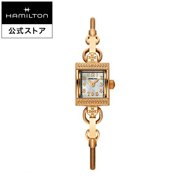 【ハミルトン 公式】 Hamilton Lady Vintage アメリカンクラシック レディハミルトン ヴィンテージ レディース メタル   女性 レディス 腕時計 時計 watch 女性用腕時計 ウォッチ ブランド腕時計 クォーツ クウォーツ クオーツ ピンクゴールド マザーオブパール 5気圧防水