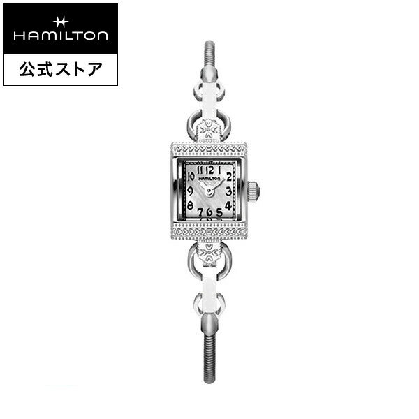 Hamilton ハミルトン 公式 腕時計 Lady Vintage アメリカンクラシック レディハミルトン ヴィンテージ レディース メタル | 正規品 時計 ブレスレットウォッチ ブレスレット レディース腕時計 ブランド腕時計 レディースウォッチ 女性 メタルバンド 女性用腕時計