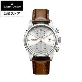 ハミルトン 公式 腕時計 Hamilton Spirit of Liberty アメリカンクラシック スピリット オブ リバティ オートクロノ メンズ レザー | ギフト 正規品 時計 メンズ腕時計 革ベルト 自動巻 機械式 22mm おしゃれ 男性腕時計 革 機械式腕時計