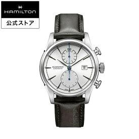 ハミルトン 公式 腕時計 Hamilton Spirit of Liberty アメリカンクラシック スピリット オブ リバティ オートクロノ メンズ レザー | ギフト 正規品 時計 メンズ腕時計 クロノグラフ 革ベルト 自動巻 機械式 22mm 男性腕時計 watch 革