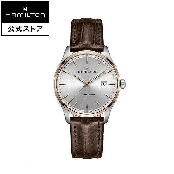 ハミルトン 公式 腕時計 Hamilton Jazzmaster Gent ジャズマスター ジェント メンズ レザー | 正規品 時計 メンズ腕時計 ブランド ベルト 革ベルト ウォッチ ブランド腕時計 ビジネス うでとけい 男性腕時計 watch 紳士 革 男性 プレゼント ウオッチ メンズウォッチ
