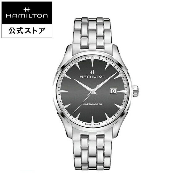 Hamilton ハミルトン 公式 腕時計 Jazzmaster Gent ジャズマスター ジェント メンズ メタル | 正規品 時計 メンズ腕時計 ブランド ブレスレットウォッチ ウォッチ ビジネス 男性腕時計 watch 男性 オフィス プレゼント スーツ 20代 男性用腕時計 メンズウォッチ ギフト 30代