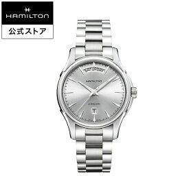 ハミルトン 公式 腕時計 HAMILTON Jazzmaster Day Date ジャズマスター デイデイト オートマティック 自動巻き 40.00MM ステンレススチールブレス シルバー × シルバー H32505151 メンズ腕時計 男性 正規品 ブランド ビジネス シンプル