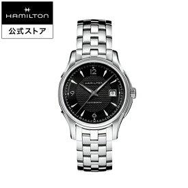 ハミルトン 公式 腕時計 HAMILTON Jazzmaster Viewmatic ジャズマスター ビューマティック オートマティック 自動巻き 40.00MM ステンレススチールブレス ブラック × シルバー H32515135 メンズ腕時計 男性 正規品 ブランド ビジネス シンプル