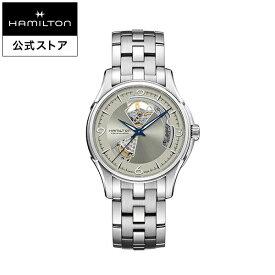 Hamilton ハミルトン 公式 腕時計 Jazzmaster Open Heart ジャズマスター オープンハート メンズ メタル | 正規品 時計 メンズ腕時計 ブランド 機械式自動巻 ウォッチ ブレスレットウォッチ ビジネス 機械式 watch 男性 スイス シルバー文字盤 男性用腕時計
