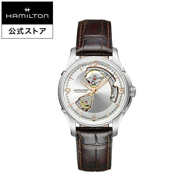 ハミルトン 公式 腕時計 Hamilton Jazzmaster Open Heart ジャズマスター オープンハート メンズ レザー   正規品 時計 メンズ腕時計 ブランド 革ベルト ウォッチ ビジネス うでとけい 男性腕時計 紳士 革 男性 プレゼント メンズウォッチ フレッシャーズ 男性用腕時計