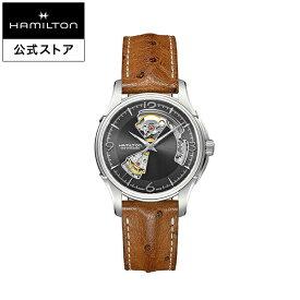ハミルトン 公式 腕時計 Hamilton Jazzmaster Open Heart ジャズマスター オープンハート メンズ レザー   正規品 時計 メンズ腕時計 ブランド ベルト 革ベルト ウォッチ ブランド腕時計 ビジネス 紳士時計 うでとけい 男性腕時計 watch 革 男性 ウオッチ メンズウォッチ